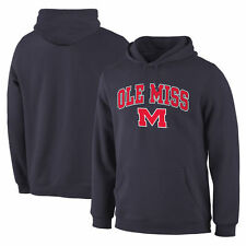 Ole Miss Rebels Navy Campus Pullover Hoodie