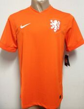WORLD CUP 2014 ORIGINAL NETHERLANDS HOLLAND HOME SOCCER JERSEY LARGE