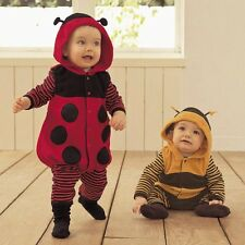 Baby Boy Girl Carnival Ladybug/Bee Costume Fancy Party Outfit Dress Cloth 6-24M
