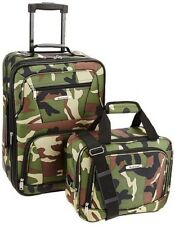 Carry On Luggage Set Travel Suitcase Rolling Expandable Bag Lightweight 2 Pack
