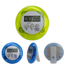 Digital Magnetic LCD Stopwatch Timer Kitchen Racing Alarm Clock Stop Watch