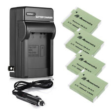 NB-6LH NB-6L Battery for Canon Powershot S95 SD1300 IS SX520 HS + Wall Charger
