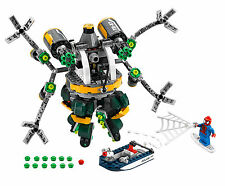 LEGO Marvel Super Heroes 76059 Doc Ocks Tentacle Trap *NO MINIFIGS EXCEPT SPIDEY
