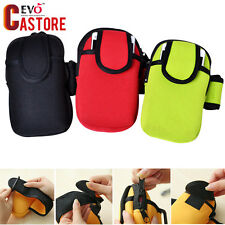Phone Arm Band bag wrist Pouch Key bag Wallet Outdoor Cycling Sports Running Gy