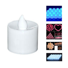 1P LED 5 Color Flash Flicker Flameless Battery Candle Light HP