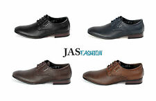 Mens Formal Lace UP Smart Shoes Fashion Italian Dress Style Leather Look Size UK
