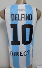 NEW!! 2016 OLYMPIC GAMES ARGENTINA BASKETBALL HOME JERSEY DELFINO # 10