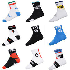 Unisex Cycling Team Socks Mountain Bike Sports Socks Castelli BMC Coolmax Socks