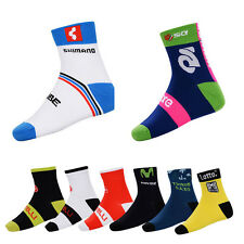 New Cycling Socks Breathable Coolmax Mountain Bike Riding Team Socks Colors