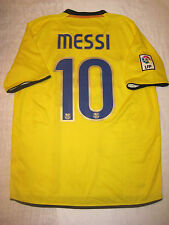 2009-2010 Nike Authentic FC Barcelona FCB Jersey Shirt Kit Messi Argentina Away