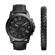Fossil Analog Casual Mens   Black US Watch FS5147SET