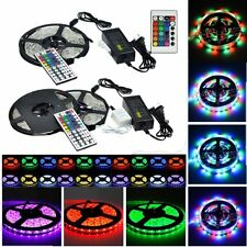 5M SMD 3528 5050 5630 3014  RGB/White 300LEDs Flexible LED Strip Lights Home Dec