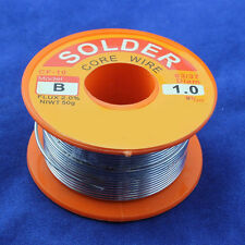3 Sizes 63/37 Tin Lead Rosin Core Solder Flux Soldering Welding Iron Wire Reel