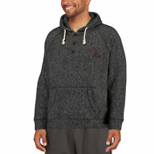 Colosseum Ole Miss Rebels Charcoal Roadster Pullover Hoodie