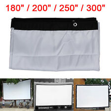 """16:9/4:3 Large Outdoor KTV Foldable Projection Projector Screen 180/200/250/300"""""""