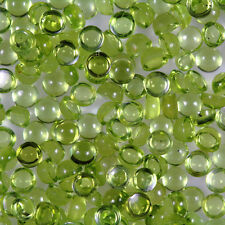 Natural Green Peridot Round Cabochon 3mm to 8mm Top Quality Loose Gemstone