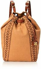 Lucky Brand Bags Grenada Washed Linen Drawstring Backpack - Choose SZ/Color.
