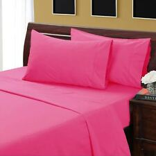"""Scala Sheet Set/Duvet/Fitted 1000TC EGYPTIAN COTTON US-BEDDING ITEMS""""HOT PINK"""""""