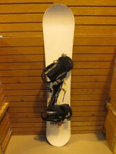 Ride Control Snowboard 151 cm , Salomon Large bindings fits 8-12.  Lot 394