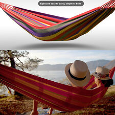 Portable Camping Sleeping Hammock Outdoor Hennessy Hängematte Hanging Bed Rope