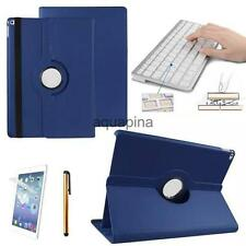 """Bluetooth Keyboard + Luxury Leather Case Rotating for iPad Pro 12.9"""" Tablet"""