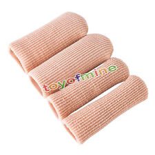 Fabric Gel Tube Bandage Finger Toe Foot Corn Calluse Cover Protector Blister Cap