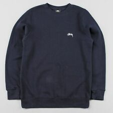 Stussy Back Arc Crewneck Sweatshirt Navy (BNWT)