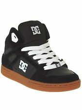 DC Black-Gum Rebound Kids Hi Top Shoe
