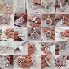 Special Wholesale 925Silver Jewelry Pendant Necklace Chain Silver Necklace +Box