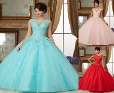 NEW Quinceanera Dress Party Evening Ball Formal Prom Dresses Wedding Gown Custom