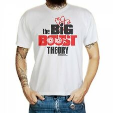 The Big Boost Theory Auto-T-Shirt for Tuning Fans Turbocharger Fun T-Shirt