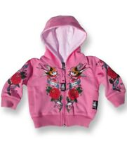 Six Bunnies Pink Forever Together Baby Hoodie Alternative Rockabilly Cute Jumper