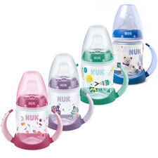NUK Baby Drink Training Learner Bottle Non-Spill Silicone Spout 150ml