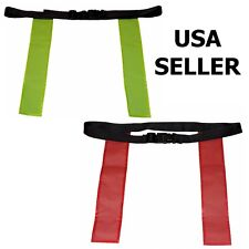 WORKOUTZ FLAG FOOTBALL BELT (1 PC) RUGBY TAG - THREE SIZES