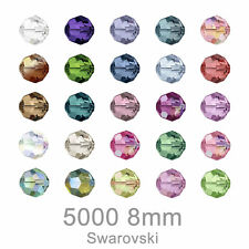 Direct order from Swarovski 5000 8mm 288 Beads Crystal All Color made in Austria