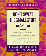 Dont Sweat the Small Stuff in Love by Carlson. Free Shipping.