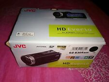 JVC EVERIO GZ-E305 CAMCORDER in original box with 16Gb SDHC CARD, battery, leads