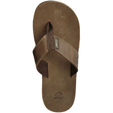 REEF SANDALS LEATHER SMOOTHY TOE POST BRONZE 0232 BZB