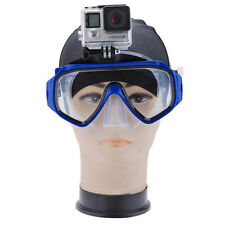 Camera Mount Diving Mask Scuba Snorkel Swimmin Goggles For GoPro HD Hero 3 3+ 4