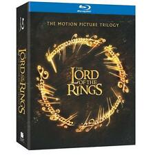 The Lord of the Rings: The Motion Picture Trilogy (Blu-ray Disc, 2010, 6-Disc...