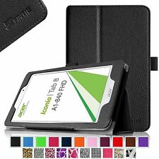 "Folio Stand Cover Case For Acer Iconia A1-840 / A1-840-131U 8"" Android Tablet"