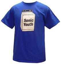 Sonic Youth - Washing Machine T-Shirt Blue New Shirt Tee