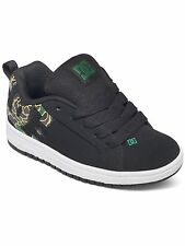 DC Black-Camo Court Graffik - Special Edition Kids Shoe