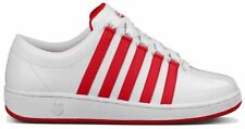 K-Swiss Classic Luxury Edtn White/Red Mens Leather Shoes 0001913