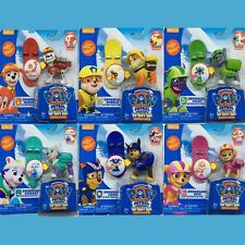 6 Pcs Paw Patrol Pup Dog Winter Rescue Car Character Figure Kid Child Toy Gift