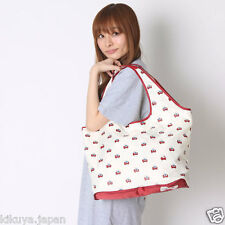 Hello Kitty x Hallmark Pocketable Tote Bag Handbag Shopping Purse Japan D4148