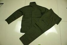 Military Army Green Camo Jacket and Pants Suits Camo Combat Uniform Clothing Set