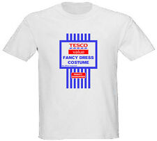 TESCO VALUE FANCY DRESS Tshirt Spoof Funny Christmas Present  Sizes S-XXL