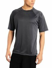 Kanu Surf Mens Swimwear 8077 Solid Rashguard UPF 50+ Swim Tee- Choose SZ/Color.
