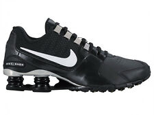 NEW WOMENS NIKE SHOX AVENUE RUNNING SHOES TRAINERS BLACK / WHITE / METALLIC SILV